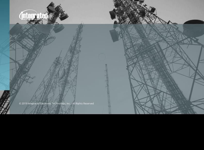 Integrated Electronic Technologies Inc homepage screenshot