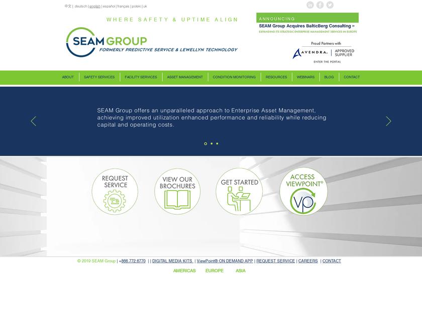 Predictive Service LLC homepage screenshot