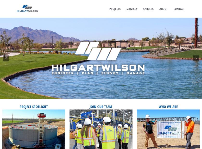 HILGARTWILSON , LLC homepage screenshot