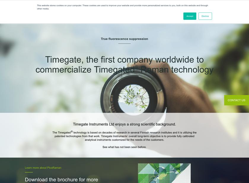 TimeGate Studios Inc homepage screenshot