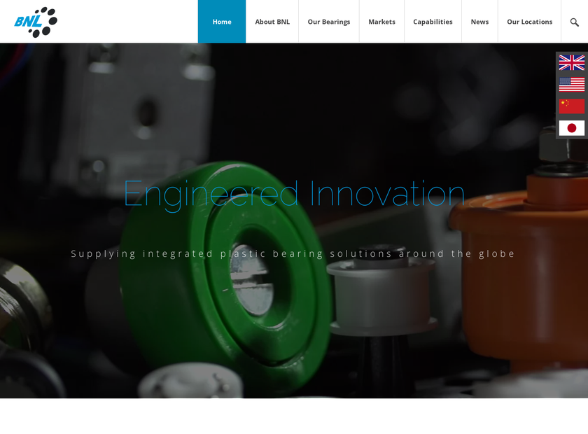 BNL Limited homepage screenshot