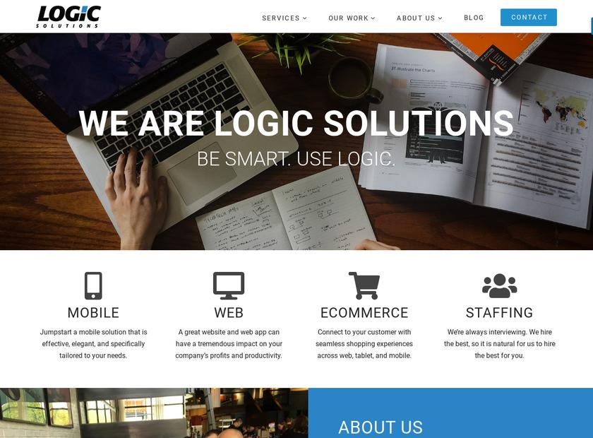 Logic Solutions Inc homepage screenshot
