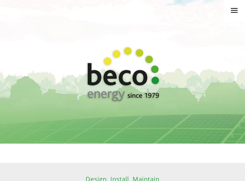 Beco Ltd homepage screenshot