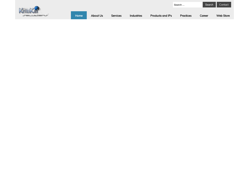 Kritikal Solutions Pvt. Ltd homepage screenshot