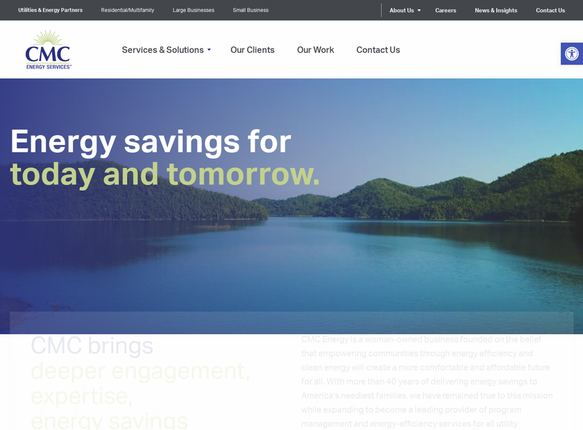 CMC Energy Services Inc homepage screenshot