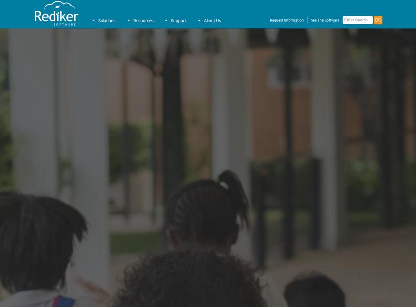 Rediker Software Inc homepage screenshot