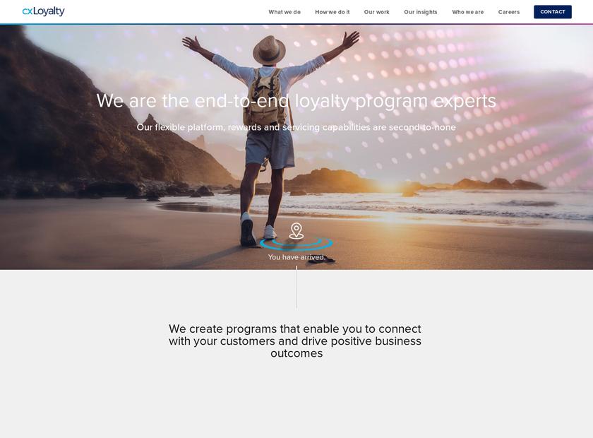 Affinion Group Inc homepage screenshot