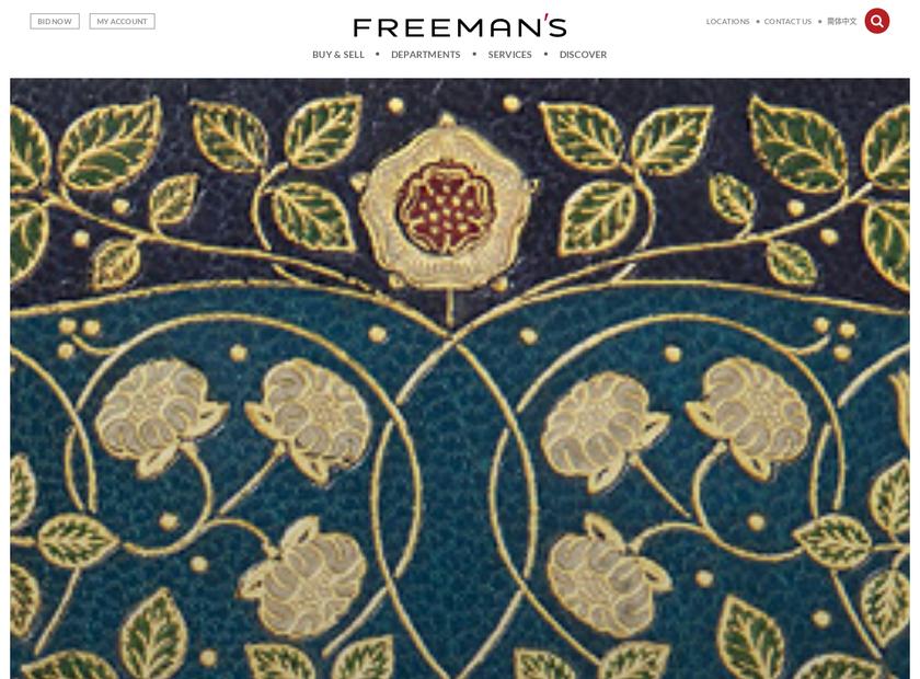 FREEMAN homepage screenshot