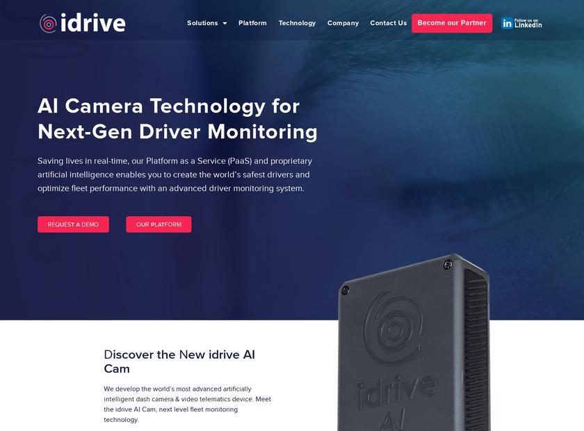 Idrive Inc homepage screenshot