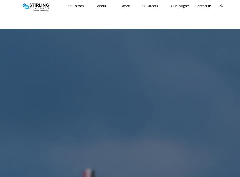 Stirling Dynamics Limited homepage screenshot