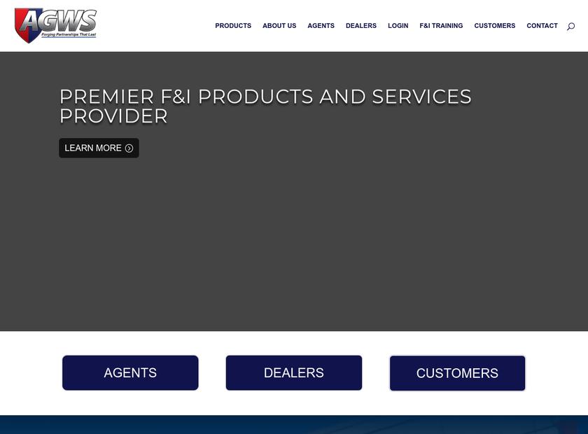 American Guardian Warranty Services Inc homepage screenshot