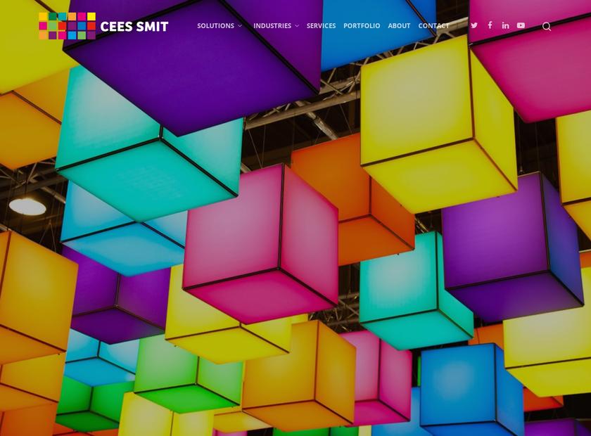 Cees Smit Inc homepage screenshot
