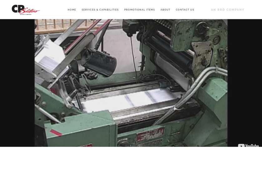 CPSolutions homepage screenshot