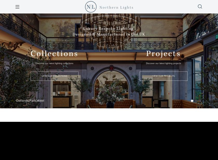 Northern Lights Ltd homepage screenshot