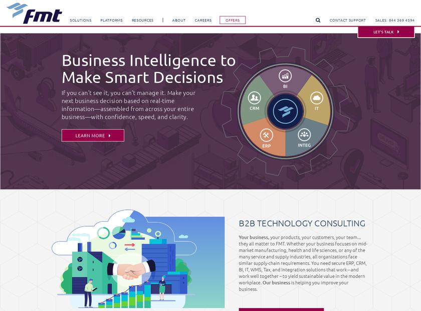 FMT Consultants LLC homepage screenshot