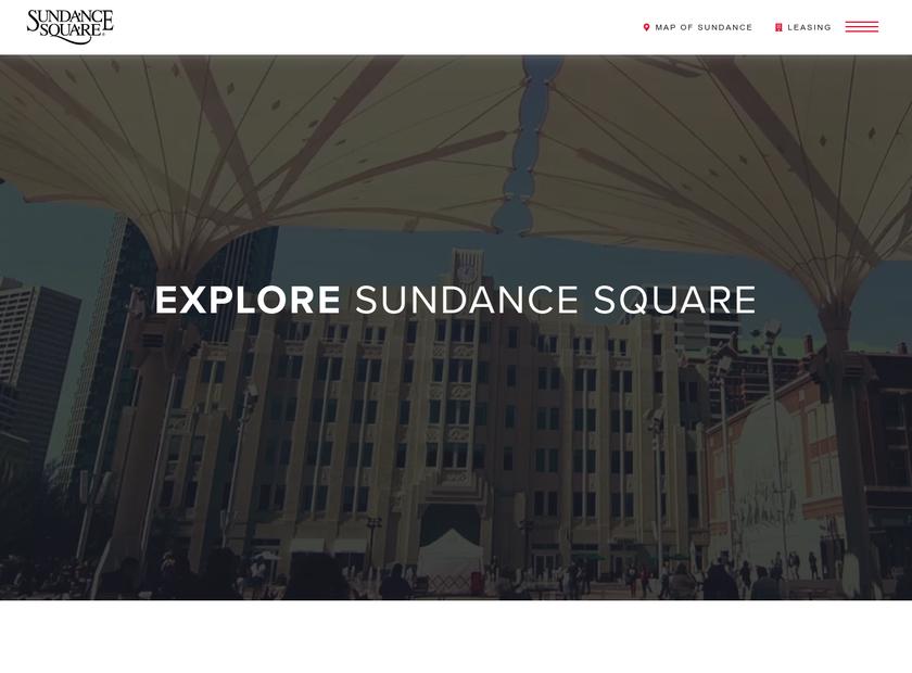 Sundance Square Inc homepage screenshot